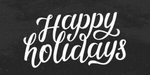 Happy Holidays Graphic Logo