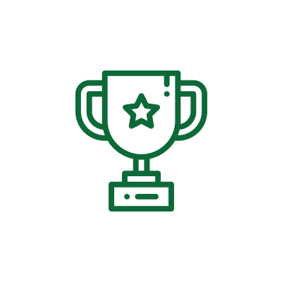 Graphic of trophy