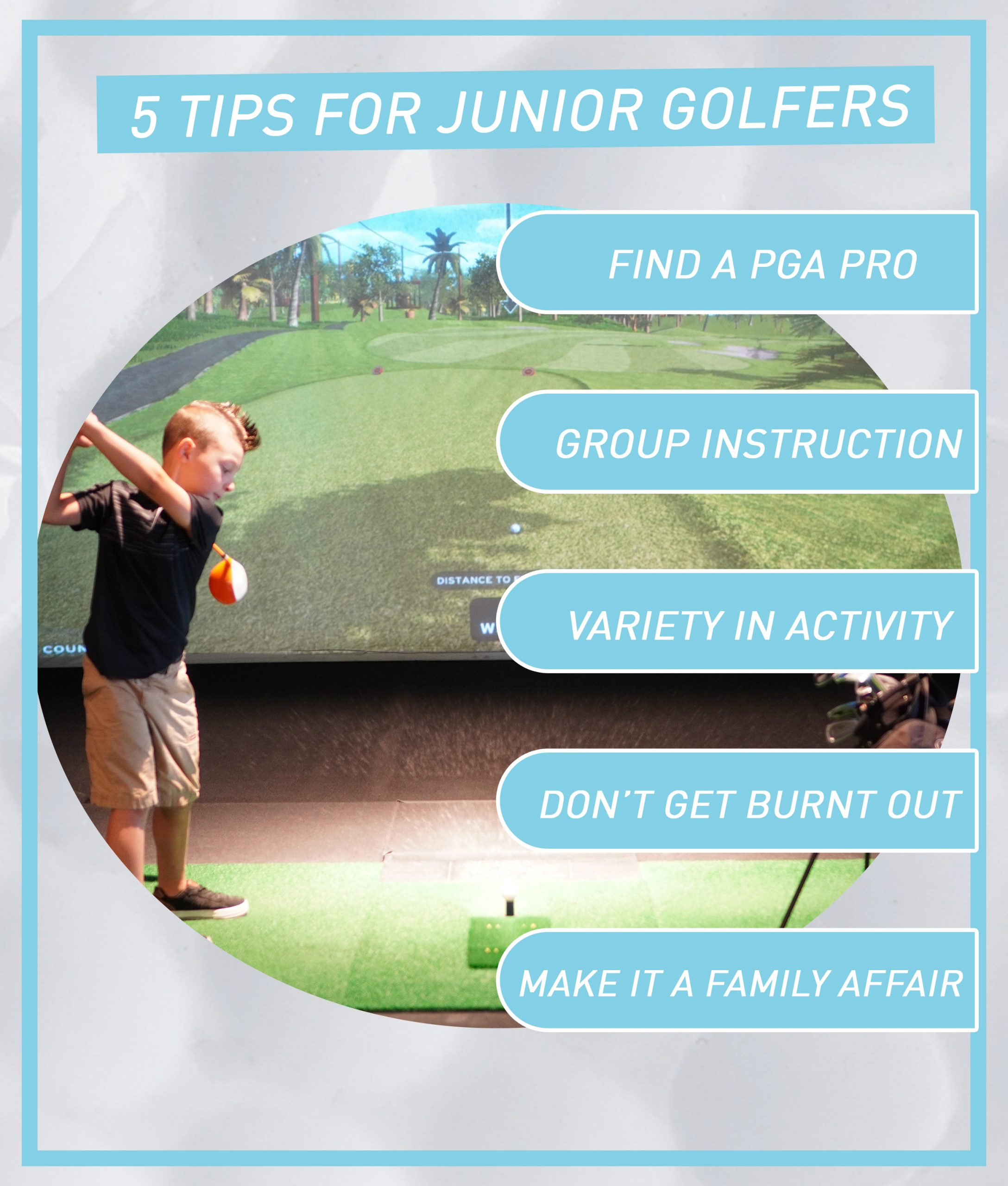 5 Tips for Junior Golfers
